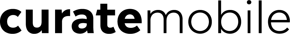 Curate mobile logo